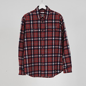 L/S FLANNEL SHIRTS (RED) / GAVIAL