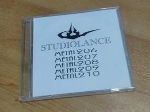 【スタジオランス BGM素材 Metal206】CD-ROM版