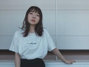【WALTZMORE】WALTZMORE 刺繍logo T-shirt