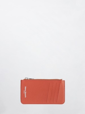 MAISON MARGIELA Card & Coin Case(P0399) Jaffa Orange S55UA0023