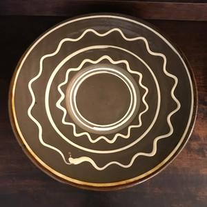 イッチン描き9寸皿