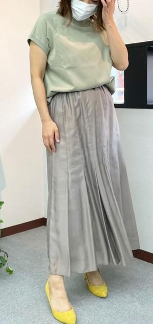 マーメイドフレアスカート