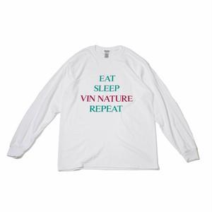 NATURE REPEAT  Long T-shirt white
