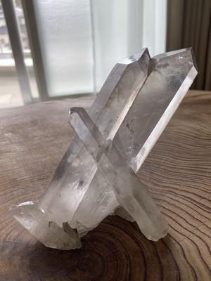 インド ラジャスタン州  プシュカル産水晶  390g