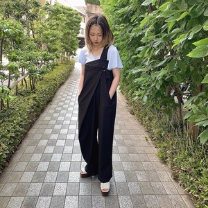 """Cigarette & Valentine"" one shoulder jumpsuit"