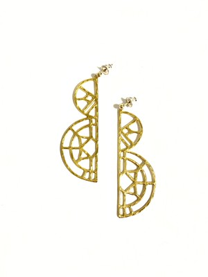 EG004G 【G-4 gold earrings】
