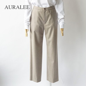 AURALEE/オーラリー ・WOOL FULLING FLANNEL SLACKS