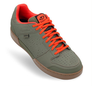 GIRO ジロJACKET MTB SHOES Army / Glowing Red / Gum