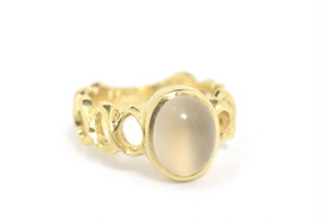 Moon / Ring - Gold