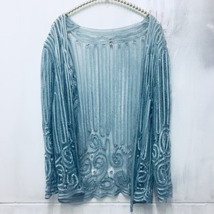 silk lace cardigan