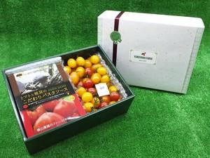 パスタソース 2箱入り + ミニトマト 800g