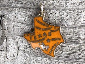 Wells Sterling Charm-Texas