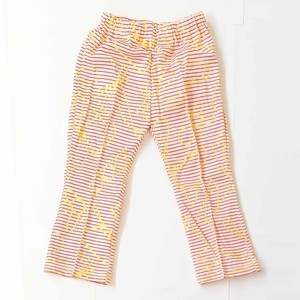 Kids Bellbottoms - Ayatori Border / EATABLE HOME