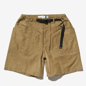 BELLWOODMADE Awesome Shorts Wide Cotton Nylon -Beige