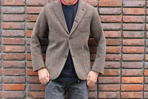 WORKERS / Maple Leaf Jacket Windowpane