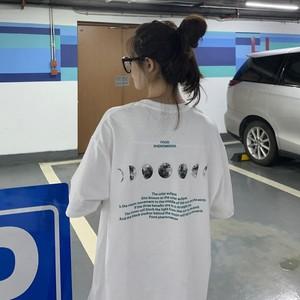 【トップス】新作韓国系ゆったりファッションプリント半袖カジュアルTシャツ21754401