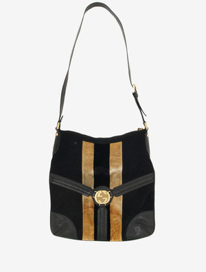 GUCCI WEBBING SHOULDER BAG