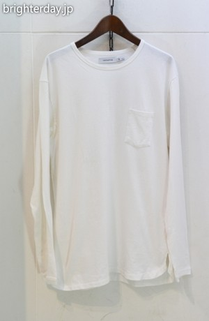 nonnative DWELLER L/S TEE COTTON JERSEY HEAVY WEIGHT