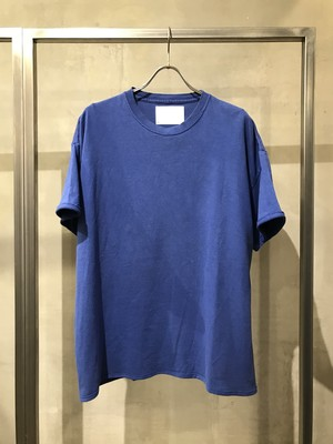 TrAnsference fixed proportion loose fit T-shirt - blue(dull)