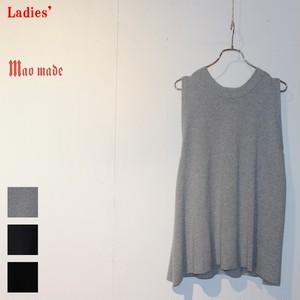 maomade ミラノリブフレアーニットベスト Milano Rib Flare Knit Vest 711135 (3color) 【Ladies'】