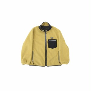 Boa fleece blouson / YELLOW