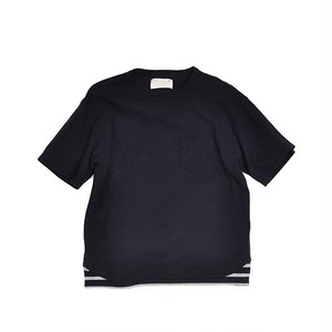 Kelen / ケレン | BIG TEE - FAKE LAYERD CUT & SEWN  'GAULLE'