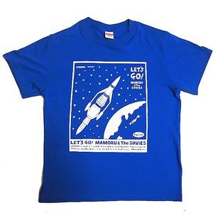 LET'S GO! Tシャツ (ロイヤルブルー)