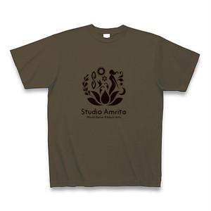 Studio Amrita オリジナルTシャツ(オリーヴ)