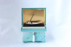 金沢インテリア茶箱クラブ 季(とき)の箱 「流水と楓」