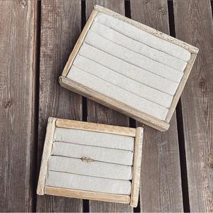 drift wood ring case.