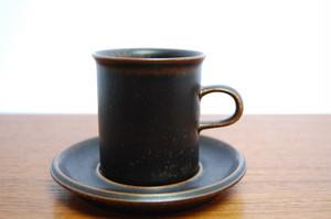 Ruska(ルスカ) コーヒーカップ&ソーサー【G】