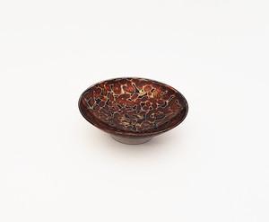 紫翠盃 金虫喰い 茶