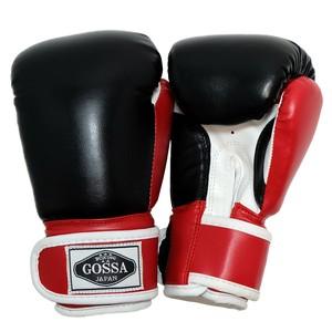 GOSSA ボクシンググローブ 【ブラック&レッド】子供用 ※小学3年生の9歳くらいまで