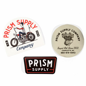 Prism Supply Co.  Sticker Pack
