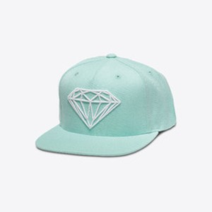 Diamond SUPPLY CO. BRILLIANT SNAPBACK DIAMOND BLUE