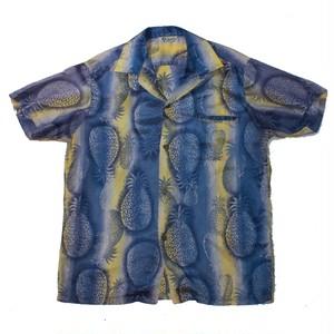 """Lauhala"" S/S Open Collar Shirts (Made in HAWAII)"