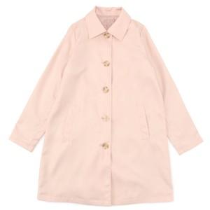 ステンカラーコート (ピンク) 3023002