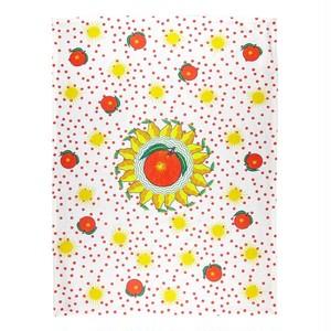 BITOSSI HOME - Tea Towel - Bel Paese Pear Orange