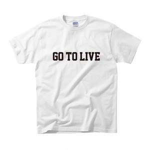 Go To Live Tee (WHITE)