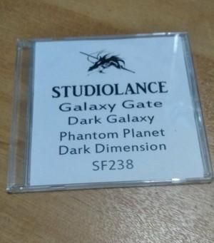 【スタジオランス BGM素材 Galaxy Gate】CD-ROM版