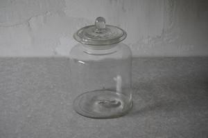 蓋付きガラス瓶