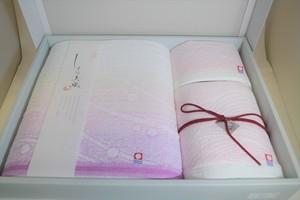 【今治タオル】しまなみ織り 渚 4000円ギフトセット ピンク ブルー