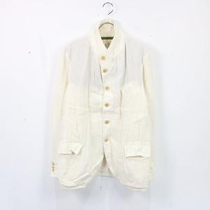 Paul Harnden / ポールハーデン   Men's Blazer リネン ブレザー ジャケット   S   ホワイト   メンズ