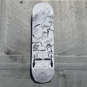 """Dead On Arrival / D.O.A / Jimmy Chung """"Mantis"""" /  8.25x31.8inch (20.9x80.7cm)"""