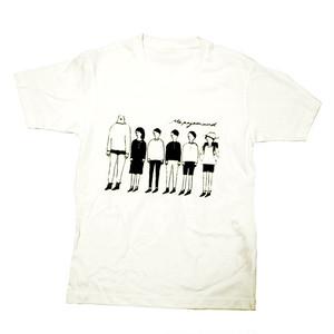 ピクニックへgoだよ Tシャツ