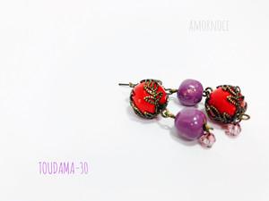 TOUDAMA-30ピアス