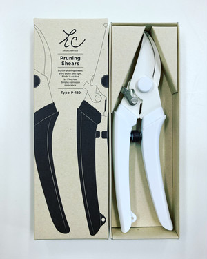 Sakagen P-180 White pruners 白い枝切りハサミonline limited edition