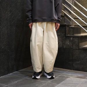 【HARVESTY】CHINO CIRCUS PANTS (IVORY) (UNISEX) サーカスパンツ 定番 ユニセックス  日本製