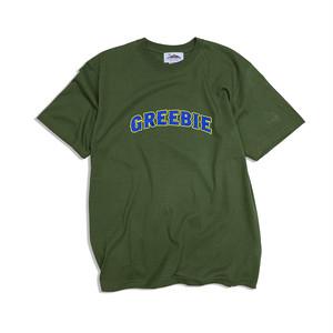 L.O.S logo S/S shirts【Olive green】