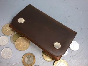 内縫い小銭入れ チョコレート